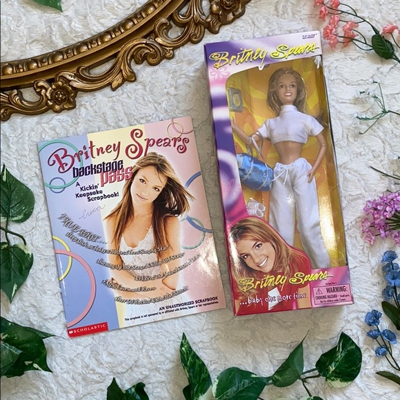 Toys Britney Spears Barbie Baby One More Time Book Poshmark